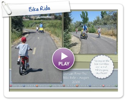 Click to play Bike Ride