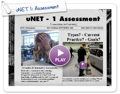 Click to play uNET 1: Assessment