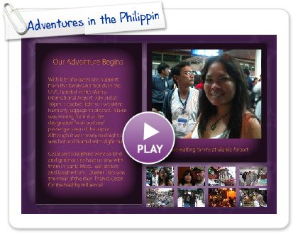 Click to play Adventures in the Philippines July 2008