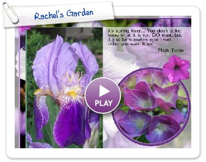 Click to play Rachel's Garden