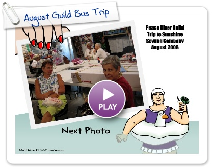 Click to play August Guild Bus Trip