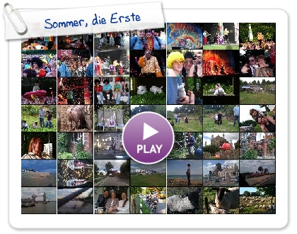 Click to play Sommer, die Erste