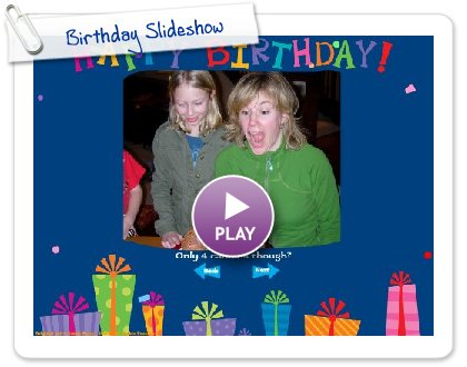 Share your photos, videos, and music inside amazing e-cards & slideshows.