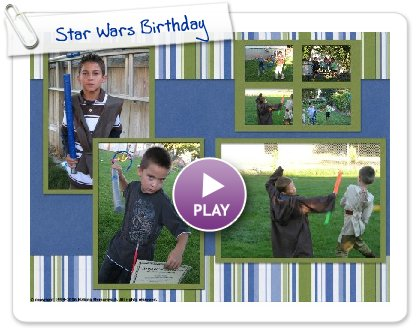 Click to play Star Wars Birthday