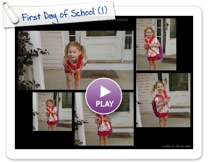 Click to play First Day of School