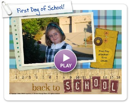 Click to play First Day of School!