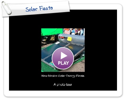 Click to play Solar Fiesta