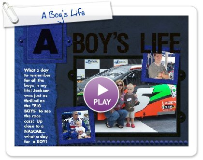 Click to play A Boy's Life