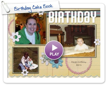 Click to play Birthday Cake Book