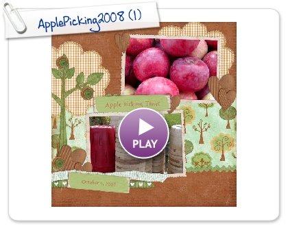 Click to play ApplePicking2008