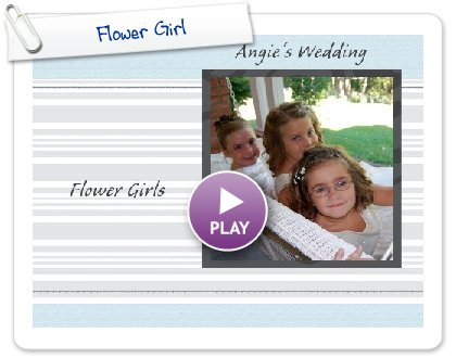 Click to play Flower Girl