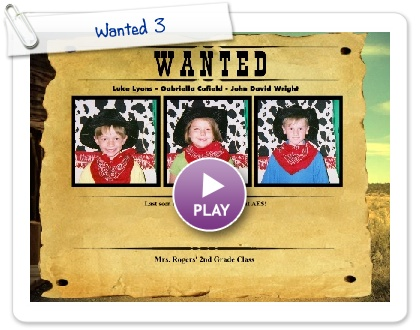 Click to play Wanted 3