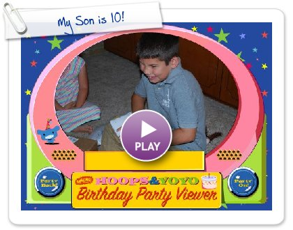 Click to play My Son is 10!