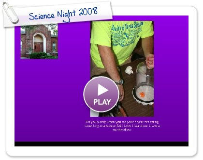 Click to play Science Night 2008