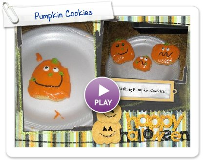 Click to play Pumpkin Cookies