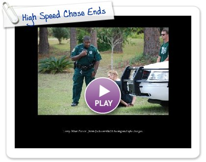 Click to play High Speed Chase Ends
