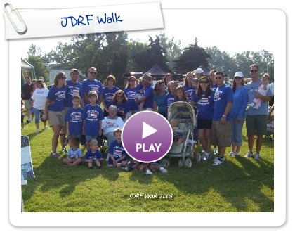 Click to play JDRF Walk