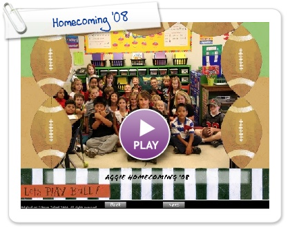 Click to play Homecoming '08