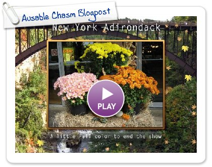 Click to play Ausable Chasm Blogpost