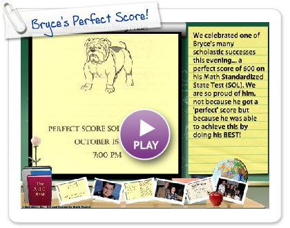 Click to play Bryce's Perfect Score!