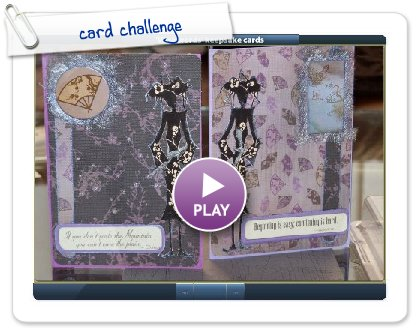 Click to play card challenge