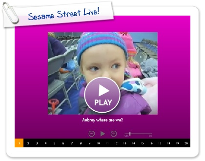 Click to play Sesame Street Live!