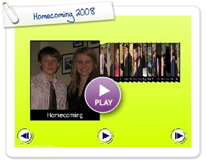 Click to play Homecoming 2008