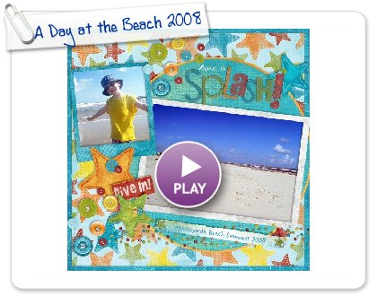 Click to play A Day at the Beach 2008