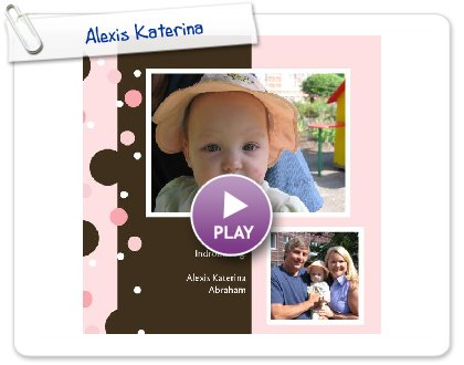 Click to play Alexis Katerina