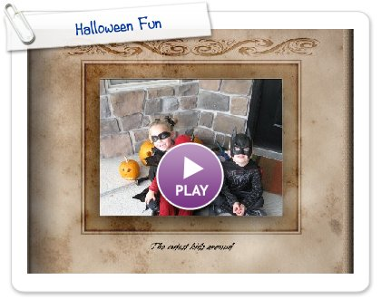 Click to play Halloween Fun
