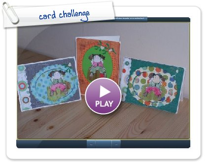 Click to play Chritmas card challenge