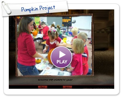 Click to play Pumpkin Project
