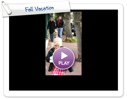 Click to play Fall Vacation