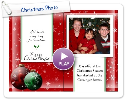 Click to play Christmas Photo