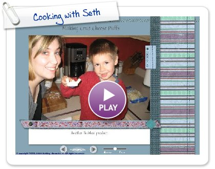 Click to play Cooking with Seth