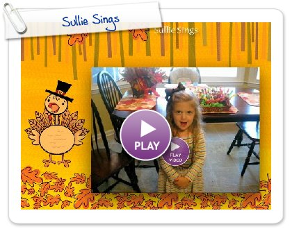 Click to play Sullie Sings