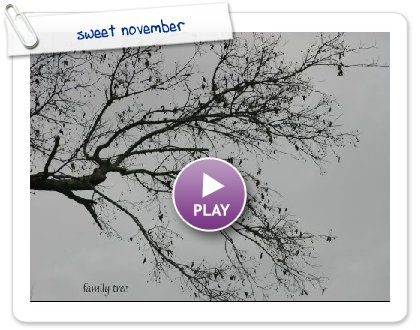 Click to play sweet november