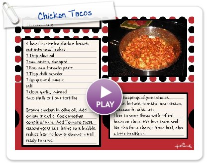 Click to play Chicken Tacos