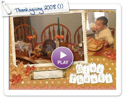 Click to play Thanksgiving 2008