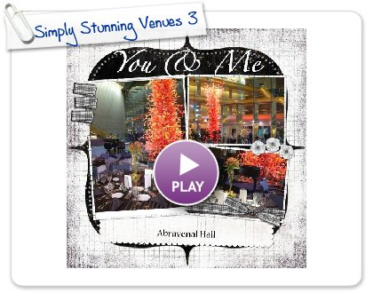 Click to play Simply Stunning Venues 3