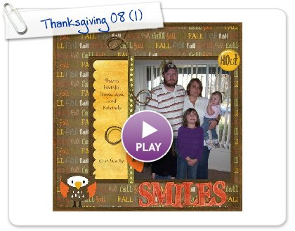 Click to play Thanksgiving 08