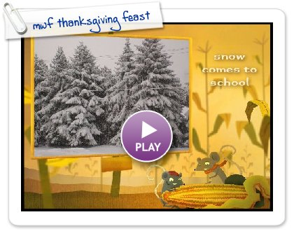 Click to play mwf thanksgiving feast