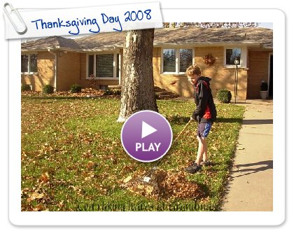 Click to play Thanksgiving Day 2008