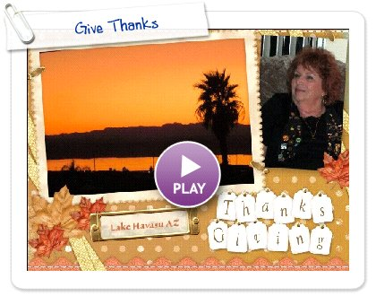 Click to play Give Thanks