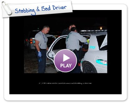 Click to play Stabbing & Bad Driver