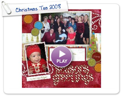 Click to play Christmas Tea 2008