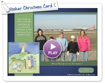 Click to play Yonker Christmas Card