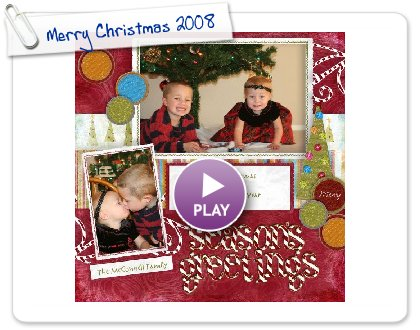 Click to play Merry Christmas 2008