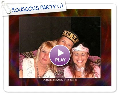 Click to play COUSCOUS PARTY
