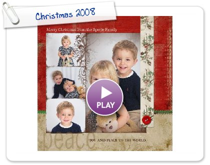 Click to play Merry Christmas 2008 from the Sperles